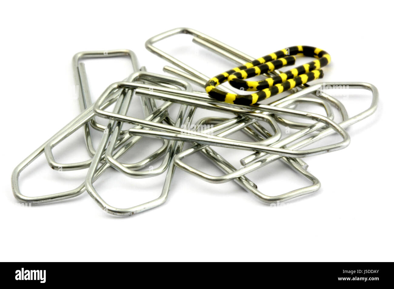 paperclips 23 - Stock Image
