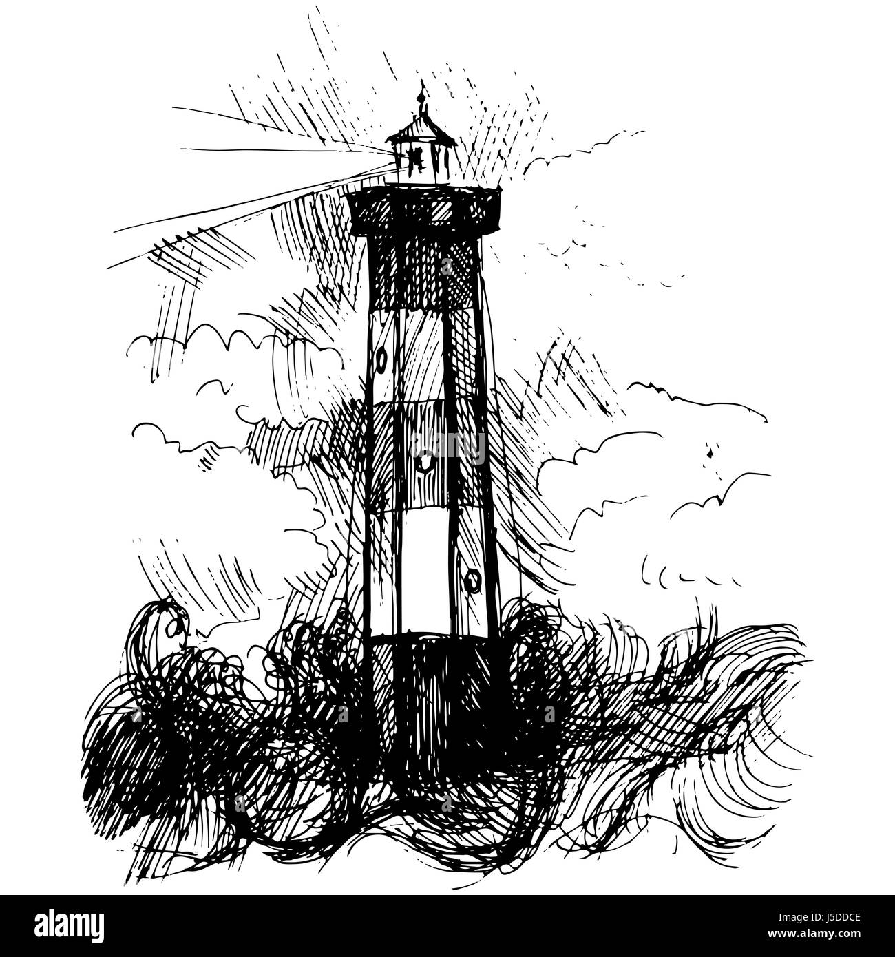 cartoon lighthouse stock photos cartoon lighthouse stock images