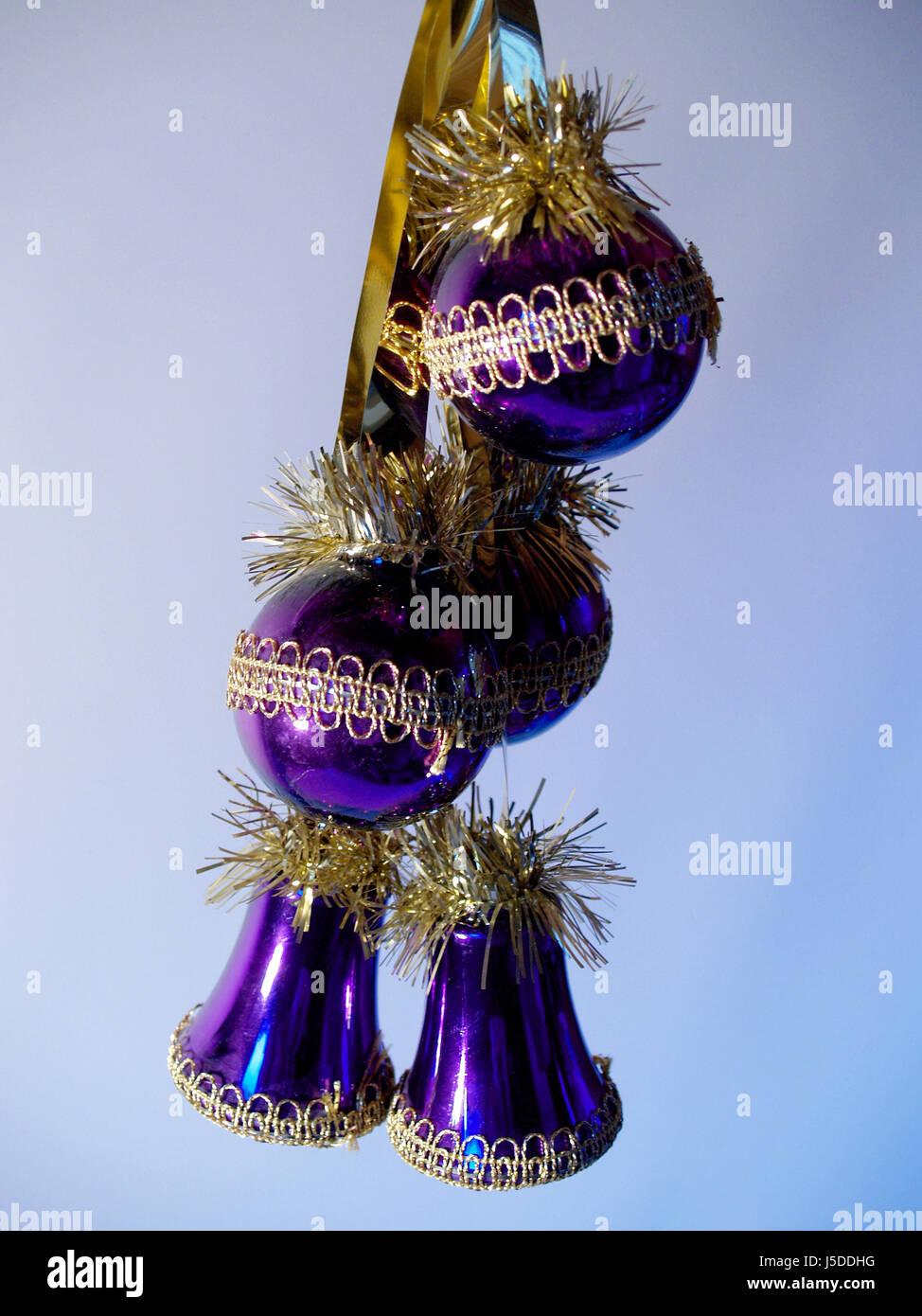 christmas tree glass ball christmas tree ball christmas eve christmas xmas - Stock Image