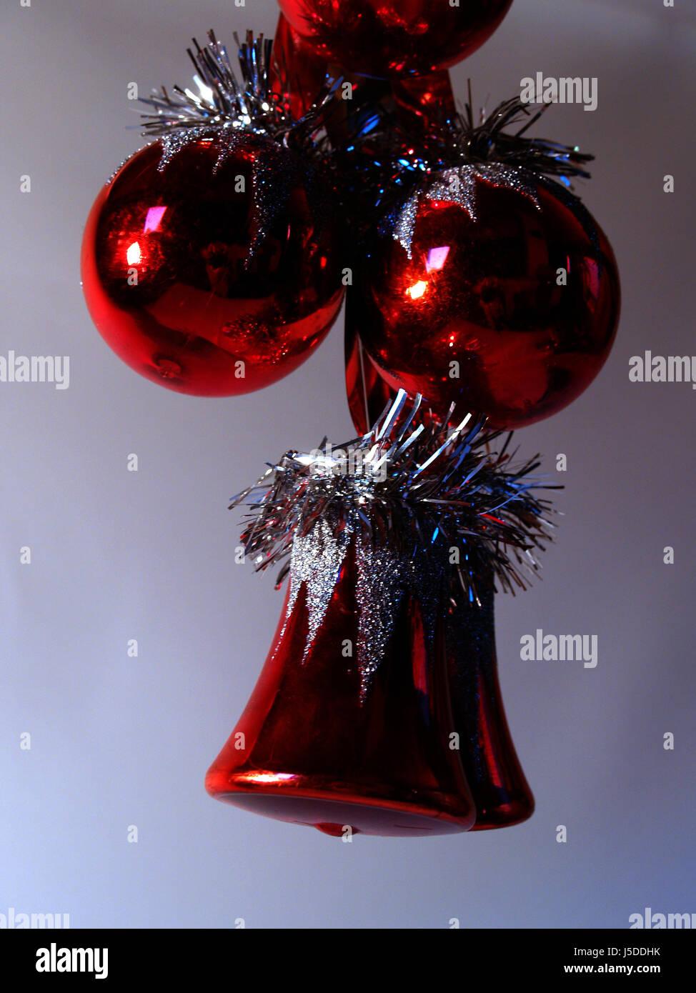holiday christmas decorations christmas ball ball december christmas tree ball - Stock Image