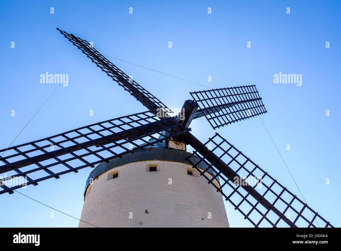 Windmill in Toledo, Spain Stock Photo