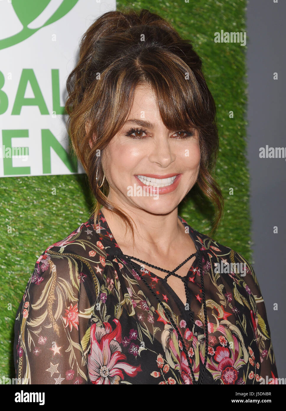PAUL ABDUL US singer and actress  in February 2017. Photo Jeffrey Mayer - Stock Image