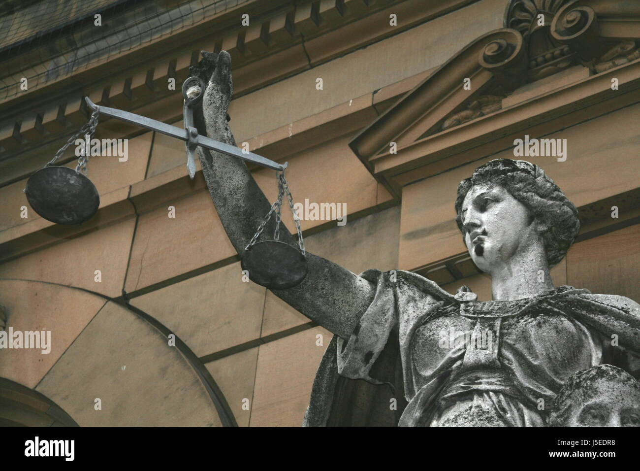 justitia - Stock Image