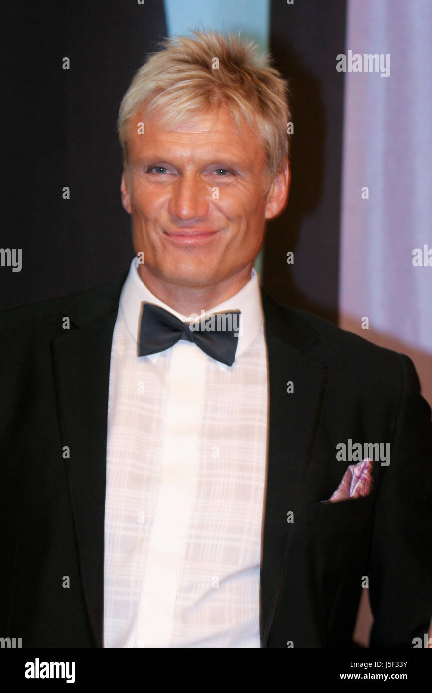 DOLPH LUNDGREN Swedish actor in Hollywood.  2010 host for the Swedish contest for qualifying for European song contest - Stock Image