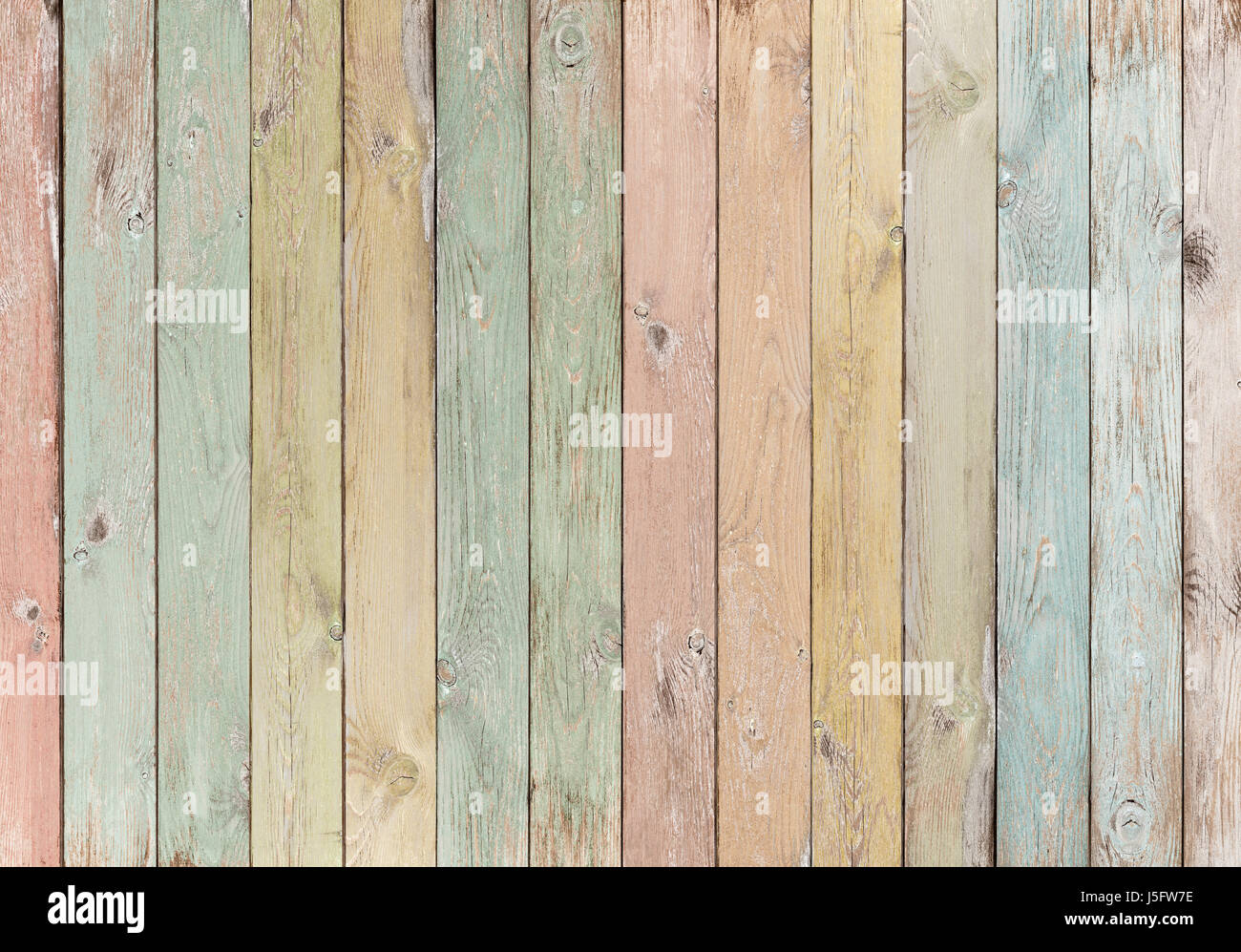 wood planks colored pastel background or texture Stock Photo