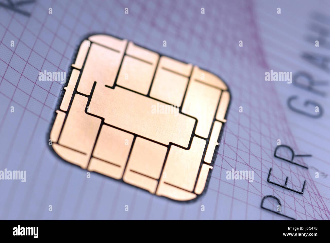 ec card - Stock Image