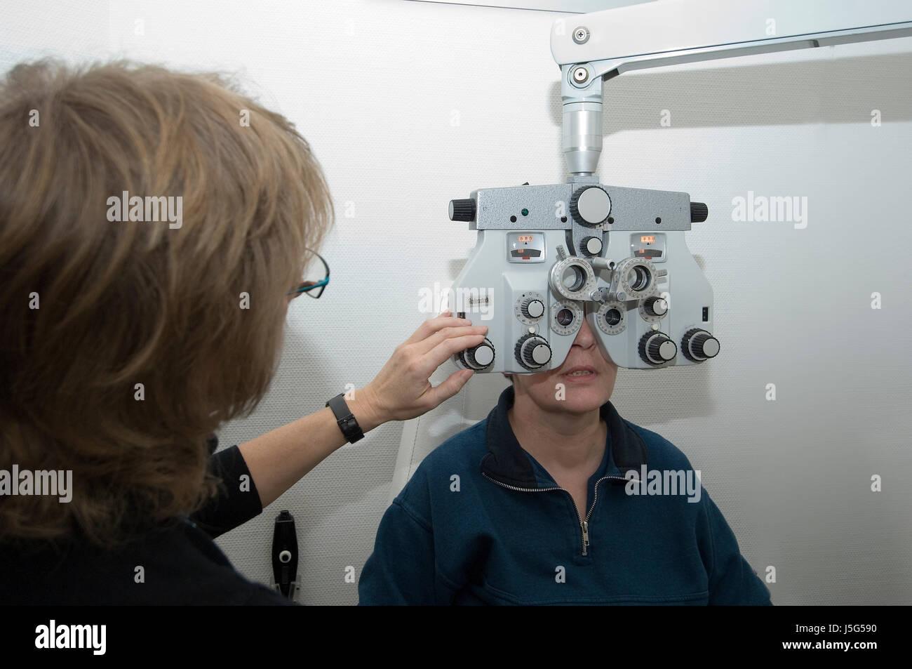 health eyes spectacles glasses eyeglasses sale meter measurement recipe Stock Photo