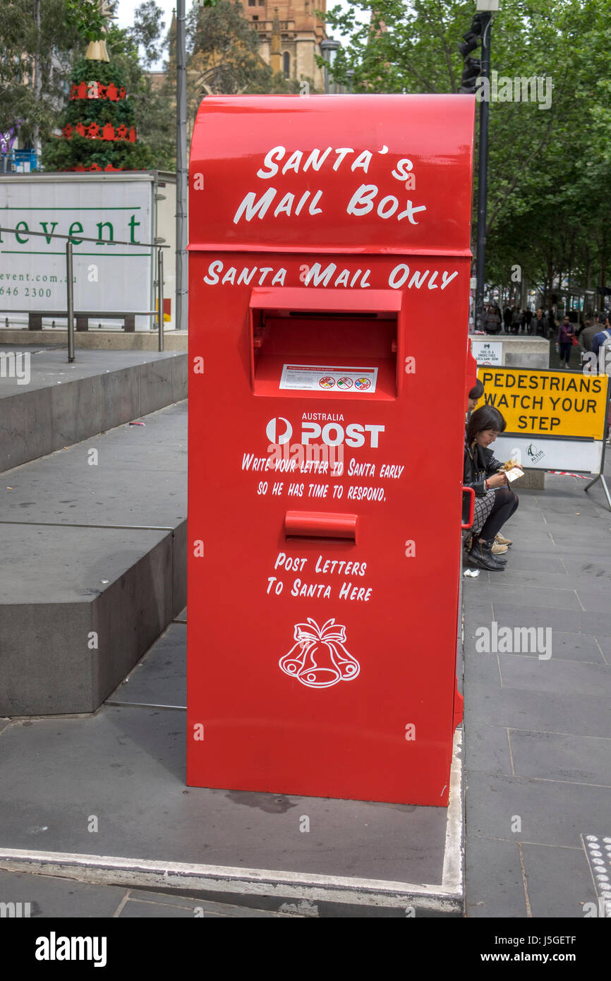 Donation and letterbox for santa claus father christmas charity in donation and letterbox for santa claus father christmas charity in melbourne australia operated by the salvation army spiritdancerdesigns Choice Image