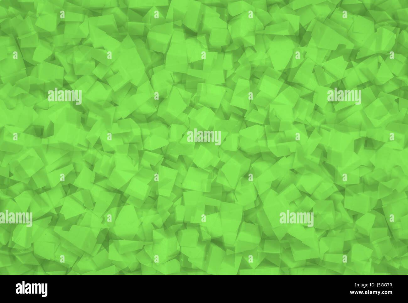 green abstract geometrical texture - Stock Image