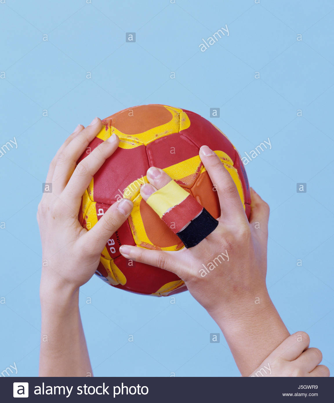 handball sports - Stock Image