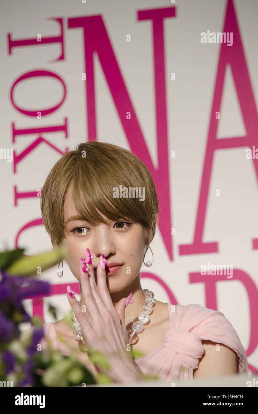 May 16, 2017 - Tokyo, Japan - Japanese Model Akina Minami during the ...