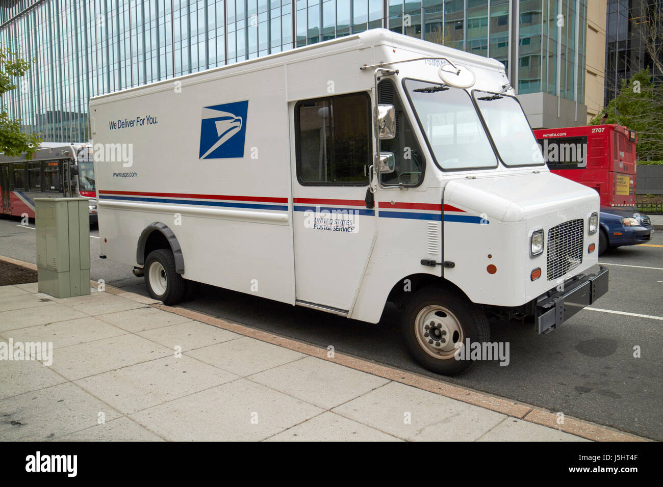 United States Postal Service 2 Ton Bread Truck Delivery Truck