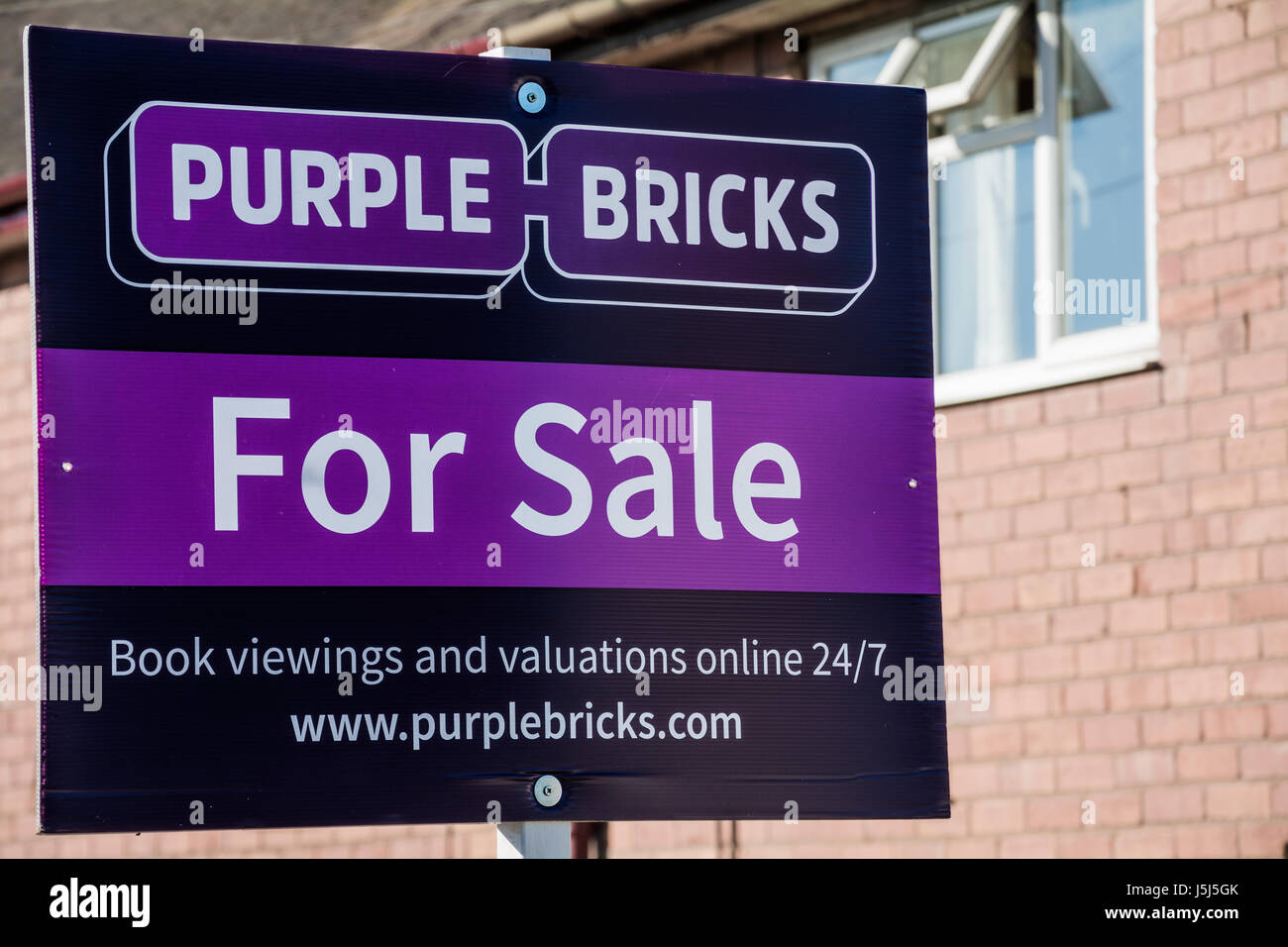 purple bricks estate agents stock photos purple bricks estate