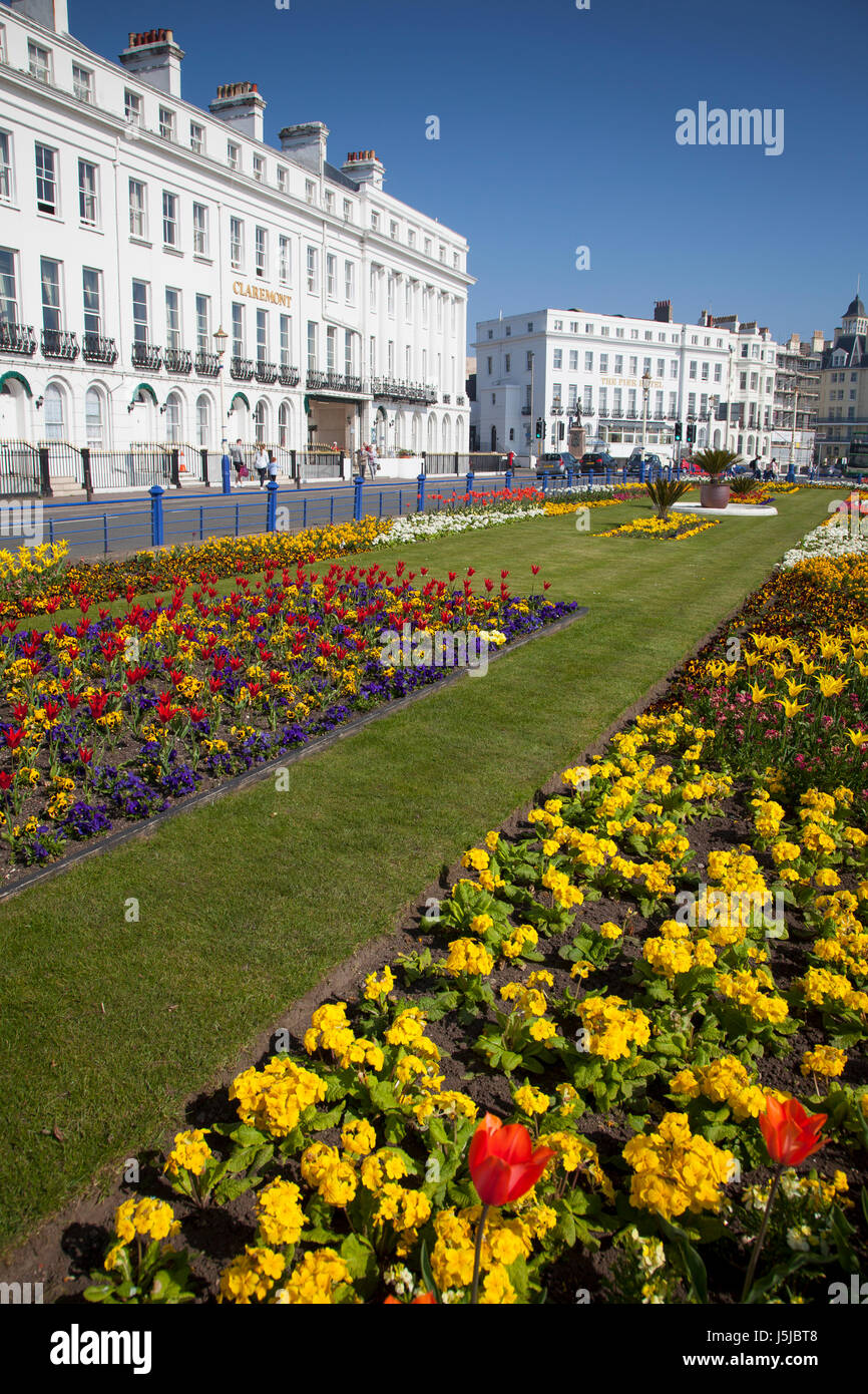 Eastbourne Seafront, East Sussex Stock Photo