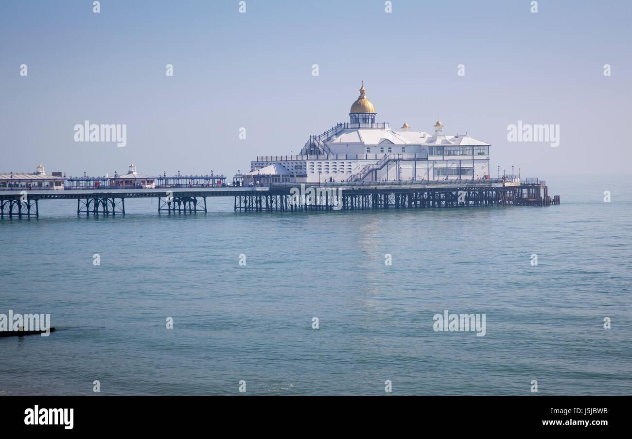 Eastbourne Pier, Sussex Stock Photo