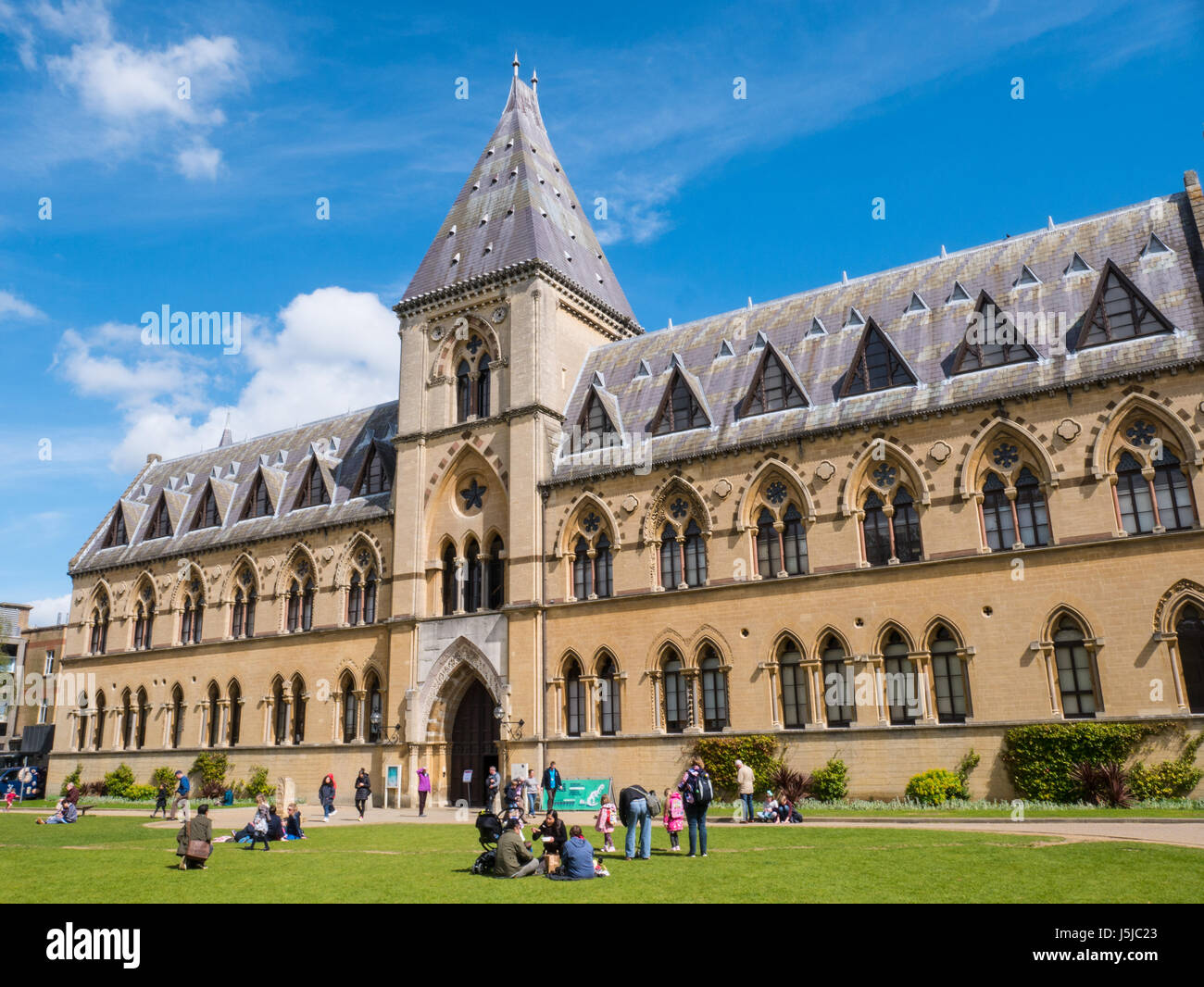 Oxford University Museum of Natural History / Pitt Rivers Museum, Oxford, Oxfordshire, England, UK, GB. - Stock Image
