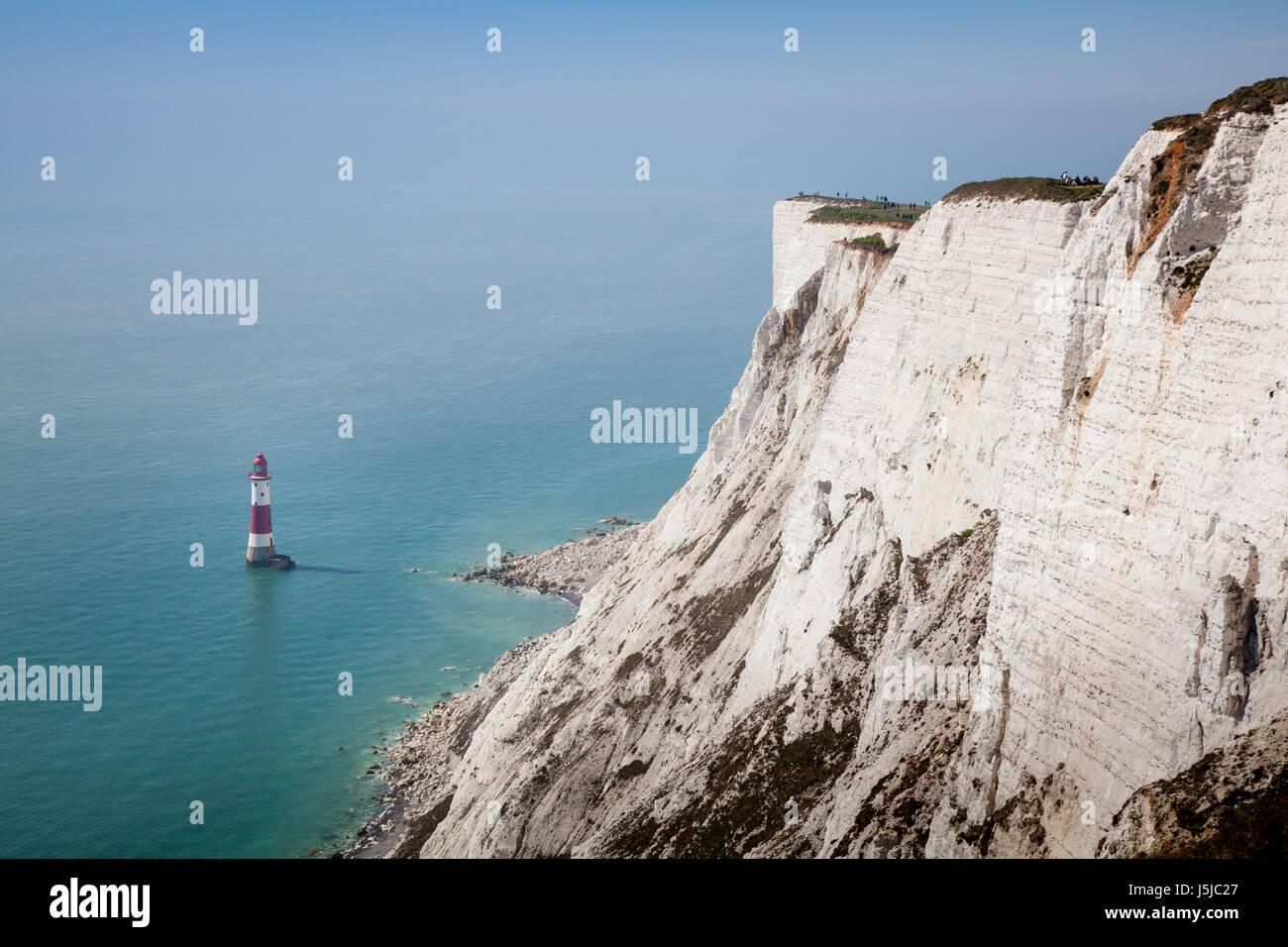 Beachy Head Lighthouse Stock Photo