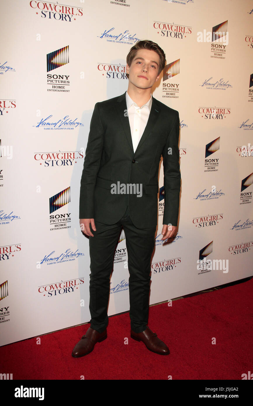 """""""A Cowgirl's Story"""" Premiere at the Pacific Theatres at The Grove on April 13, 2017 in Los Angeles, CA  Featuring: Froy Gutierrez Where: Los Angeles, California, United States When: 13 Apr 2017 Credit: Nicky Nelson/WENN.com Stock Photo"""