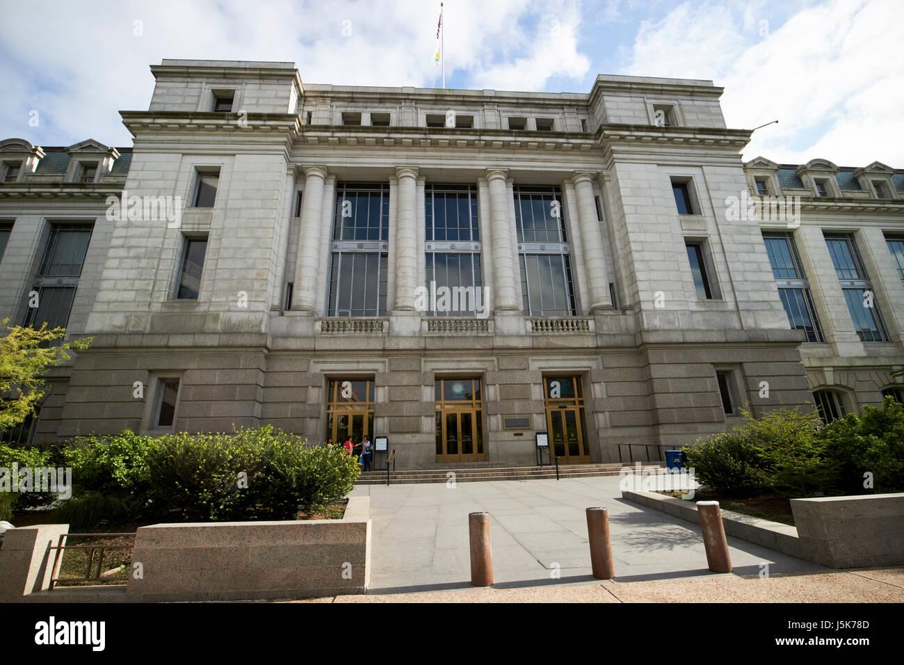 smithsonian national museum of natural history Washington DC USA - Stock Image