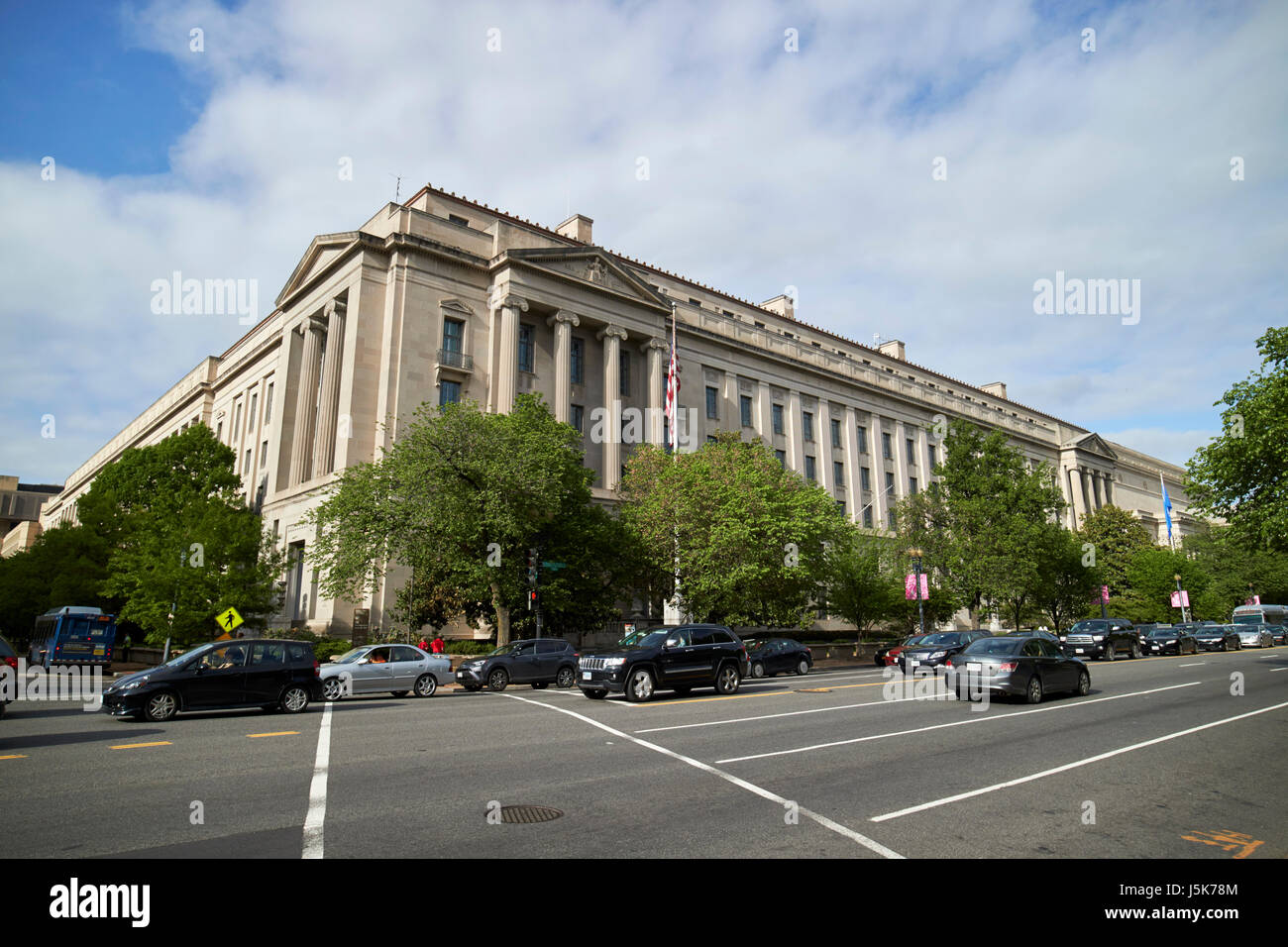 robert f kennedy department of justice building federal triangle Washington DC USA - Stock Image