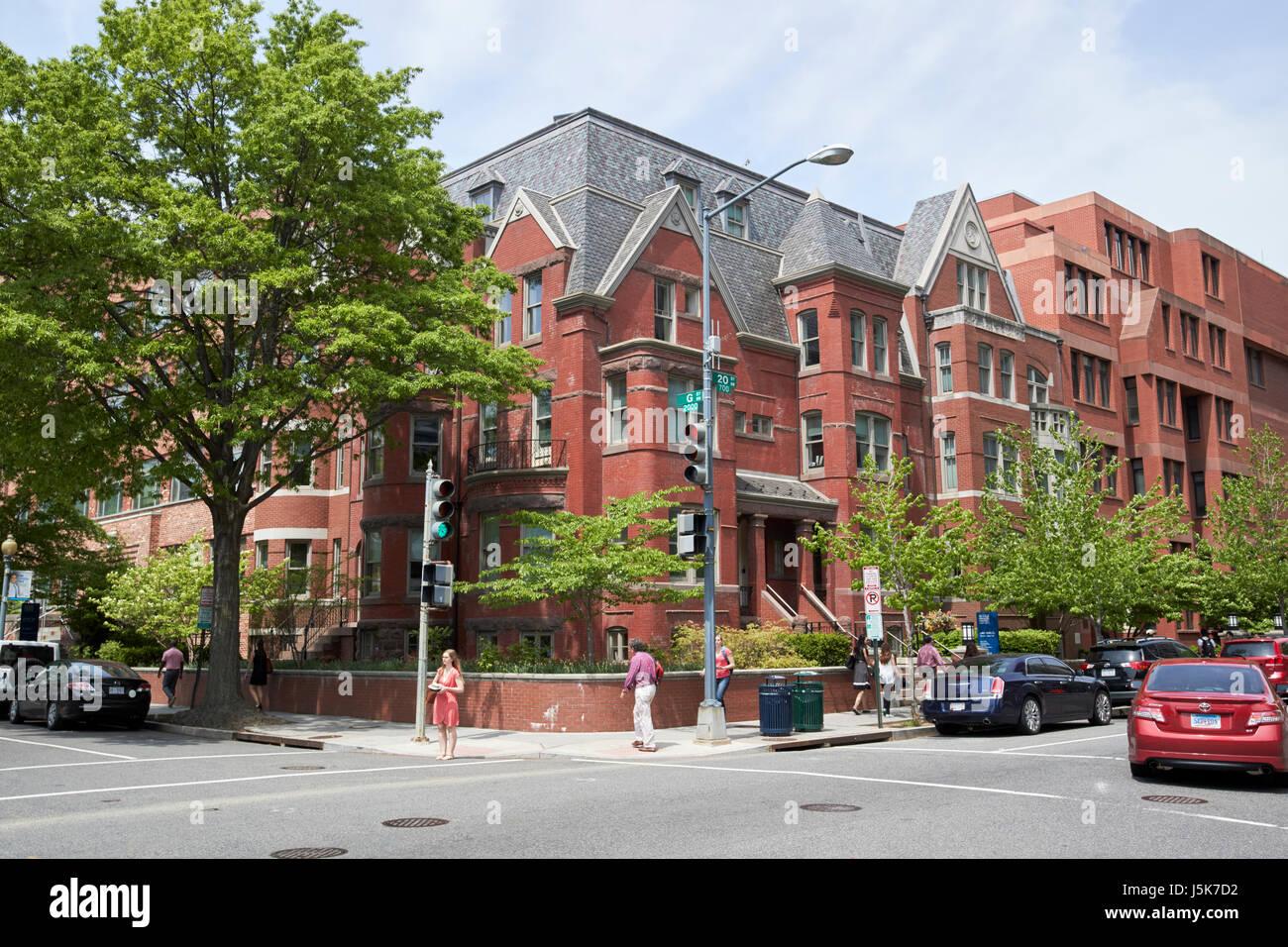 presidents office george washington university Washington DC USA - Stock Image