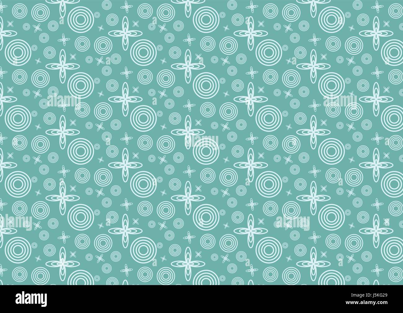 Vintage star orbit and circle pattern in space. Circle and oval pattern classic and cute style for design. - Stock Vector