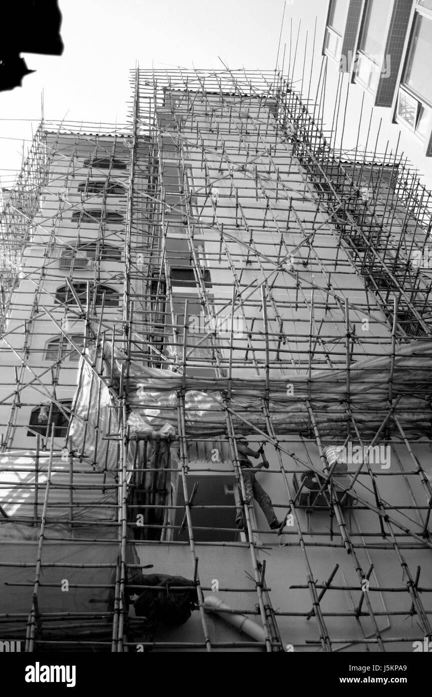 house building multistory building multistorey building multi-story building - Stock Image