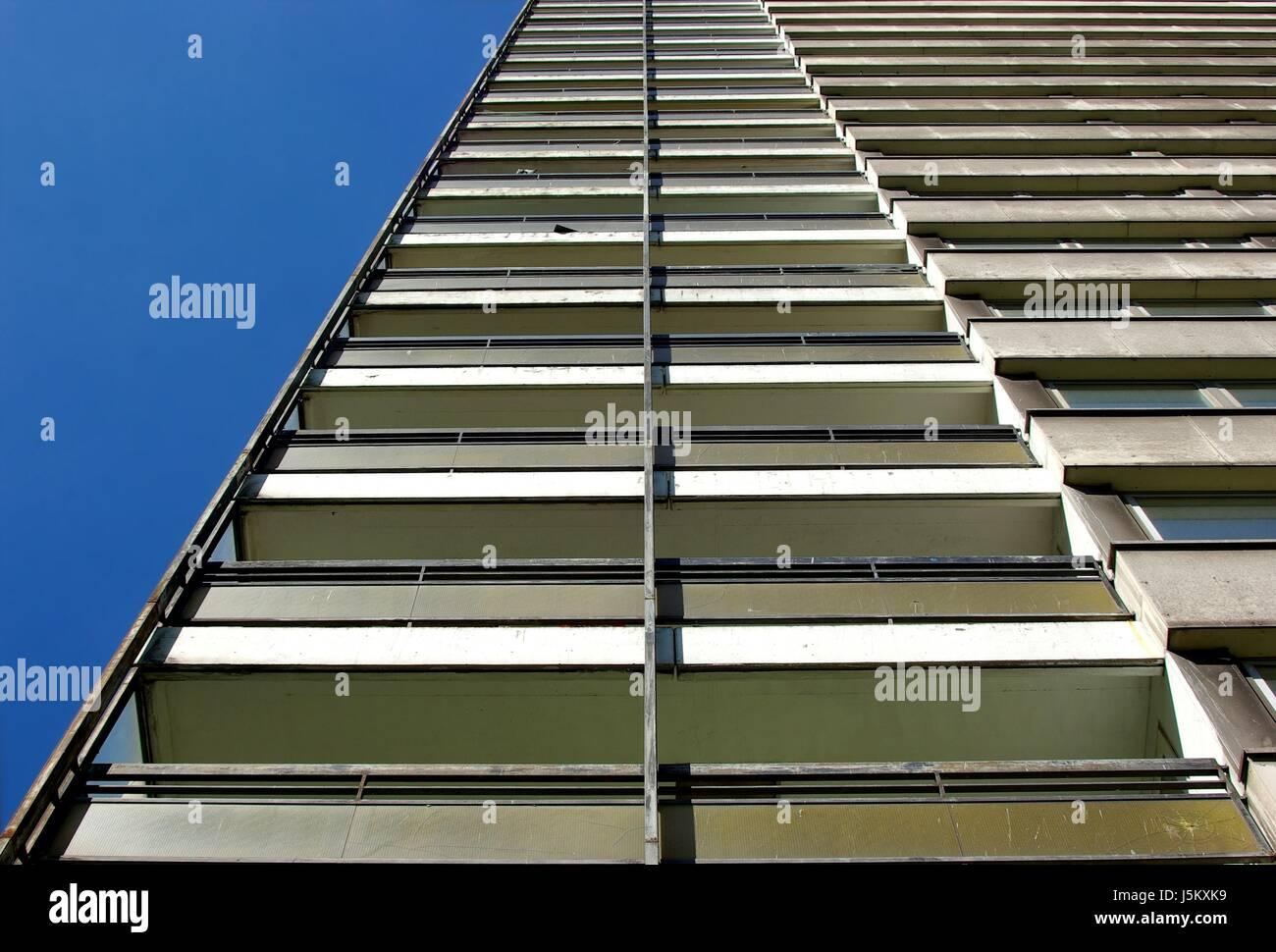 all facade Stock Photo