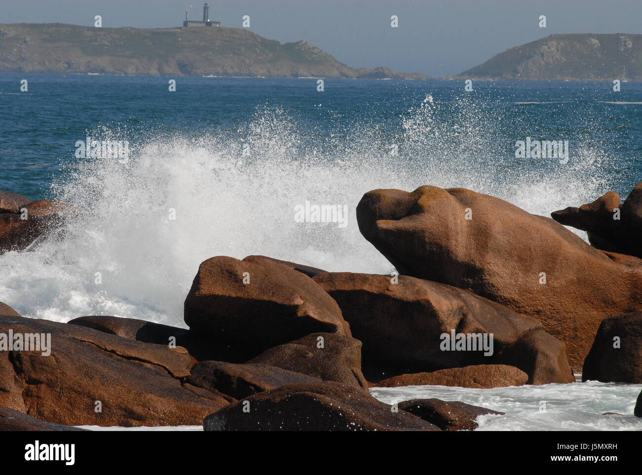 rock water whip 2 Stock Photo