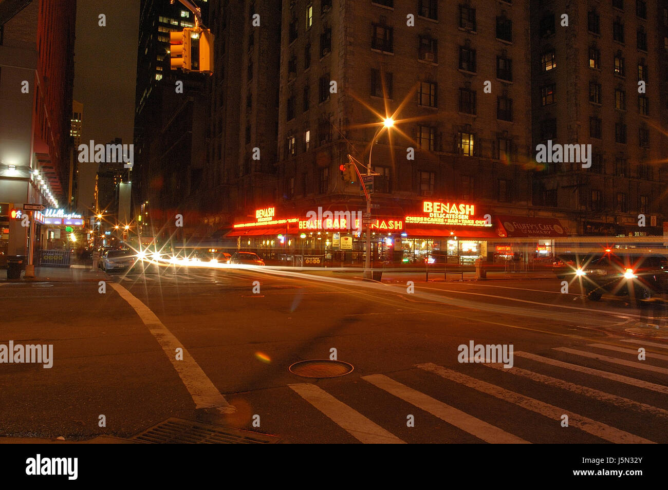 intersection in new york Stock Photo