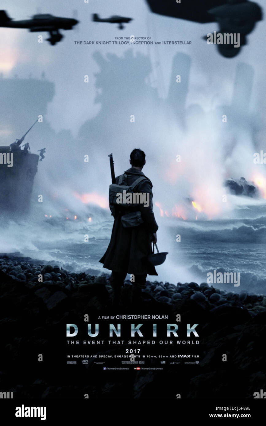 DUNKIRK (2017)  CHRISTOHER NOLAN (DIR)  WARNER BROS/MOVIESTORE COLLECTION LTD - Stock Image