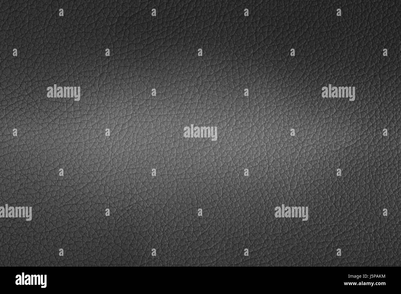 Two tone of black leather texture closeup can be used as background - Stock Image