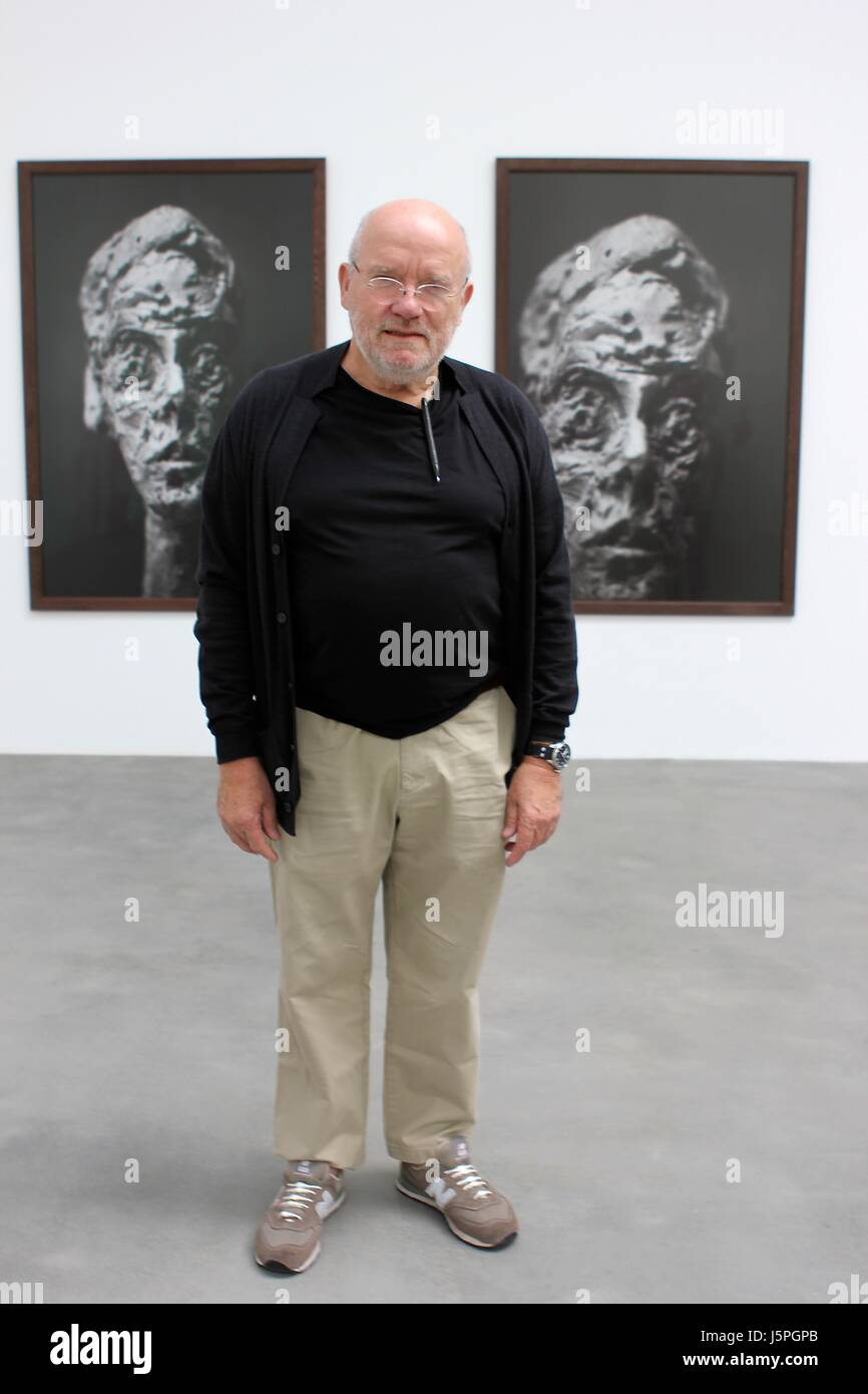 Gagosian Gallery, London, UK. 18th May, 2017. Substance and Shadow Alberto Giacometti sculptures and their photographs Stock Photo