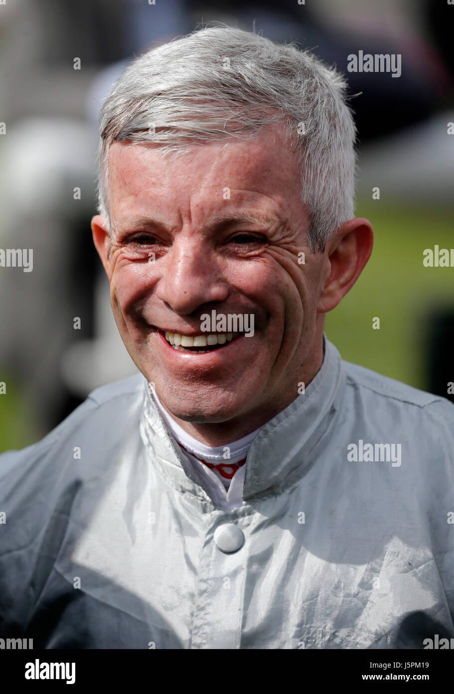 York, UK. 18th May, 2017. Franny Norton Winning Jockey Dante Festival 2017, York Racecourse York Racecourse, York, - Stock Image