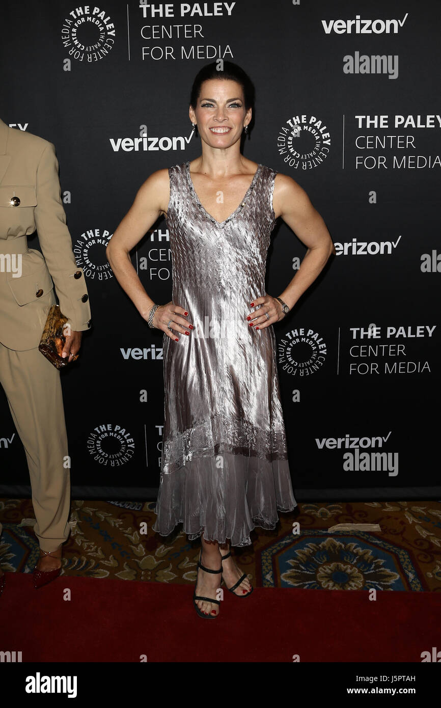 New York, USA. 18th May, 2017. Ice skater Nancy Kerrigan attends The Paley Honors: Celebrating Women In Television - Stock Image