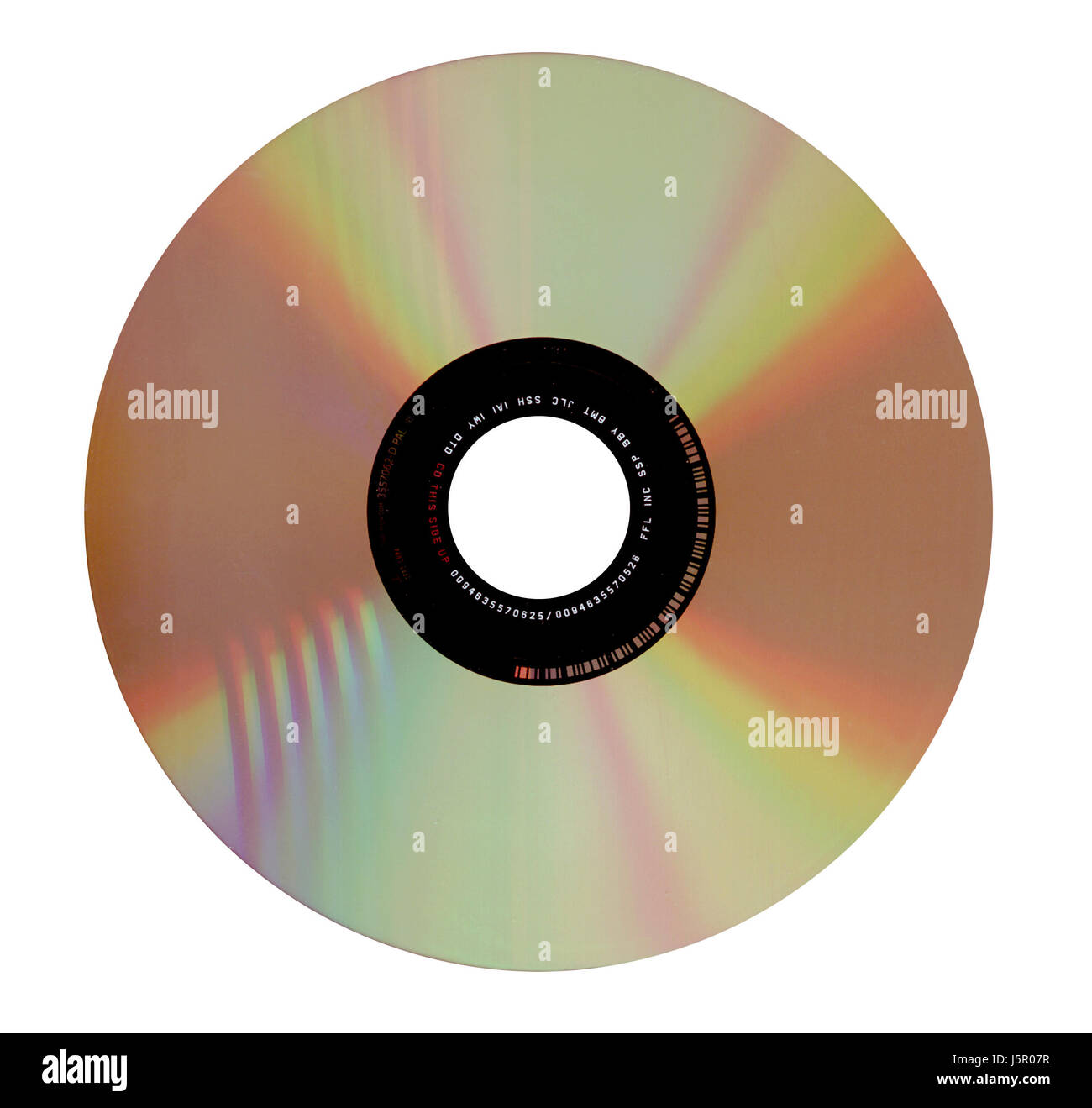 optional medium store dvd CD burn cd-r cd-rw disc copieren - Stock Image