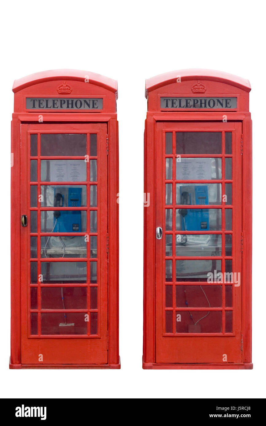 telephone box phonebooth telephone kiosk telephone booth telephone phone talk - Stock Image