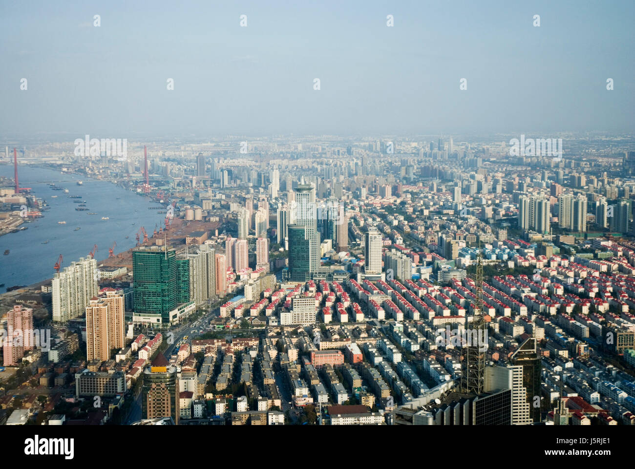 city town asia tourism sight view outlook perspective vista panorama lookout Stock Photo