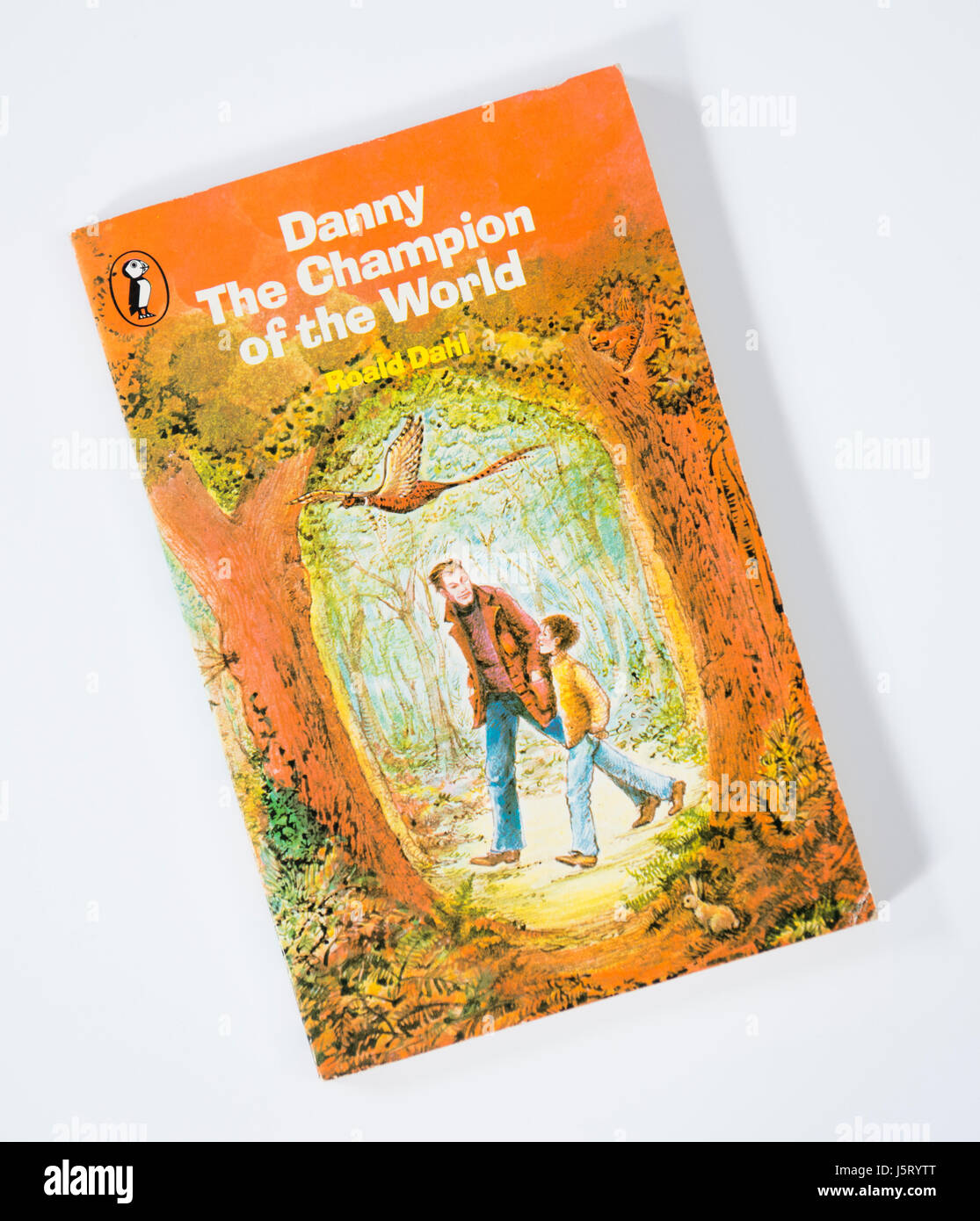 Danny The Champion of the World by Roald Dahl - Stock Image