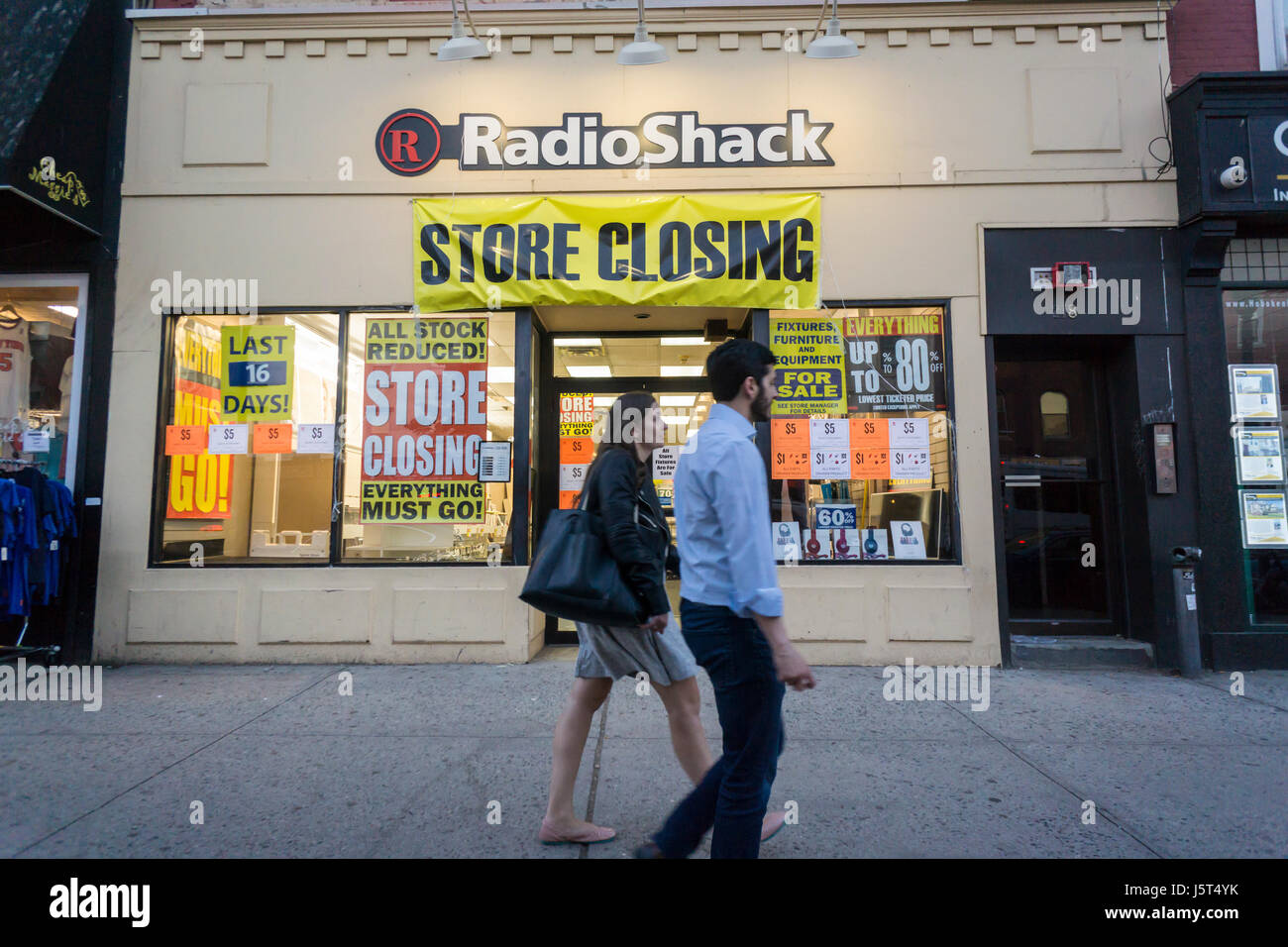 A RadioShack store in Hoboken in New Jersey on Tuesday, May