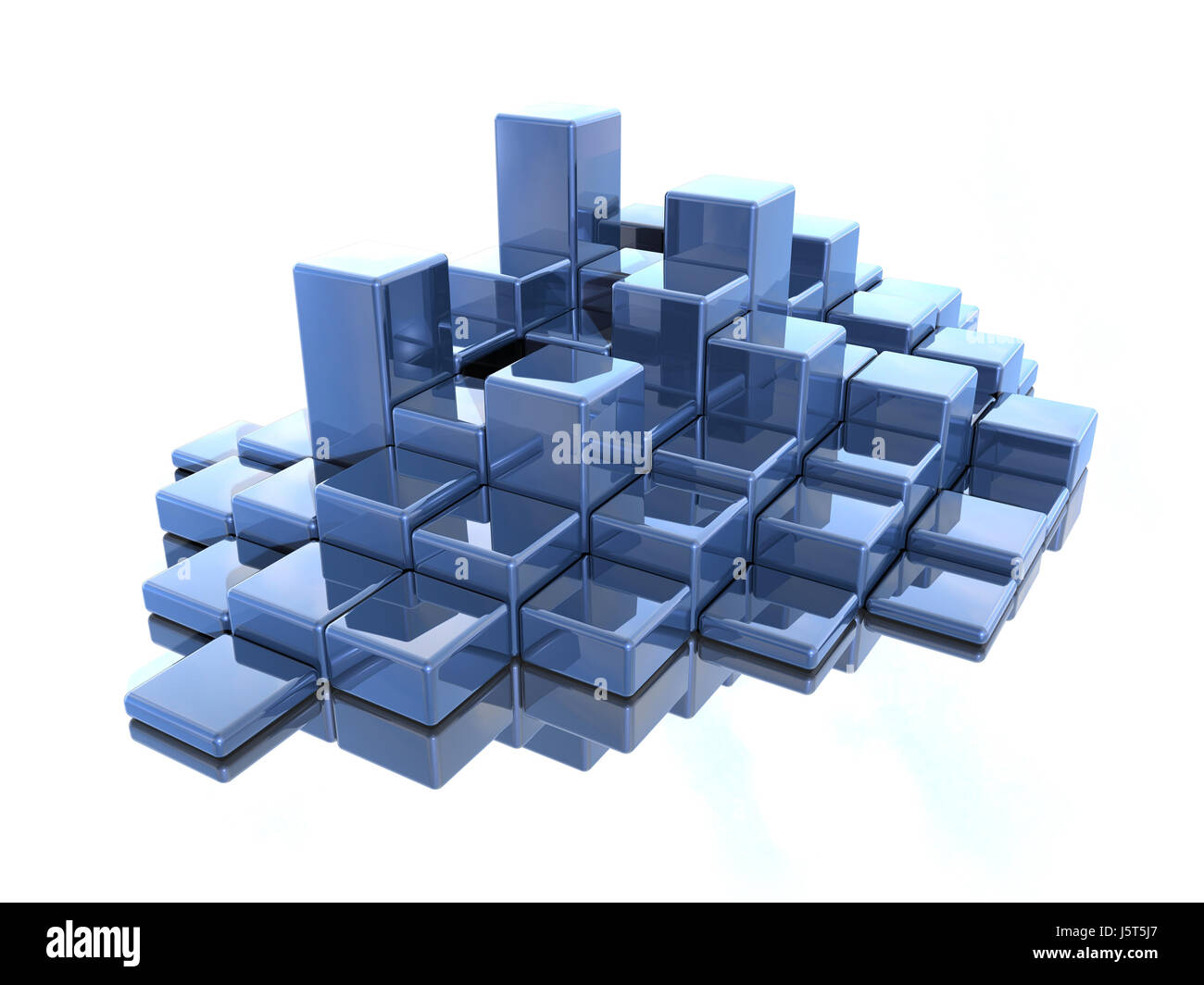 abstraktqadur 1 - Stock Image