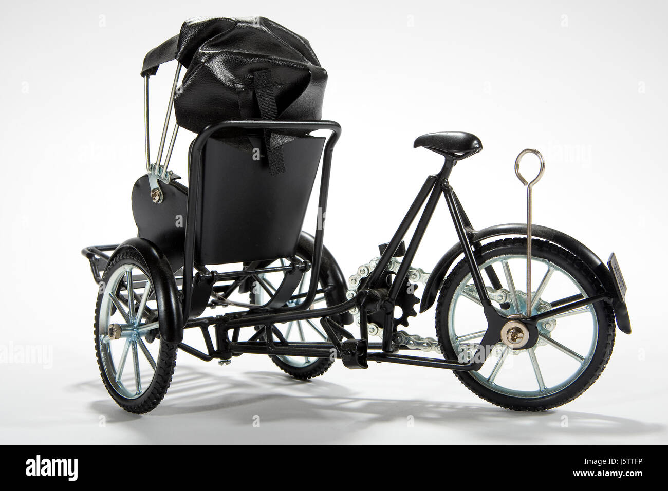 asia transport means of conveyance vehicle means of travel rickshaw drive - Stock Image