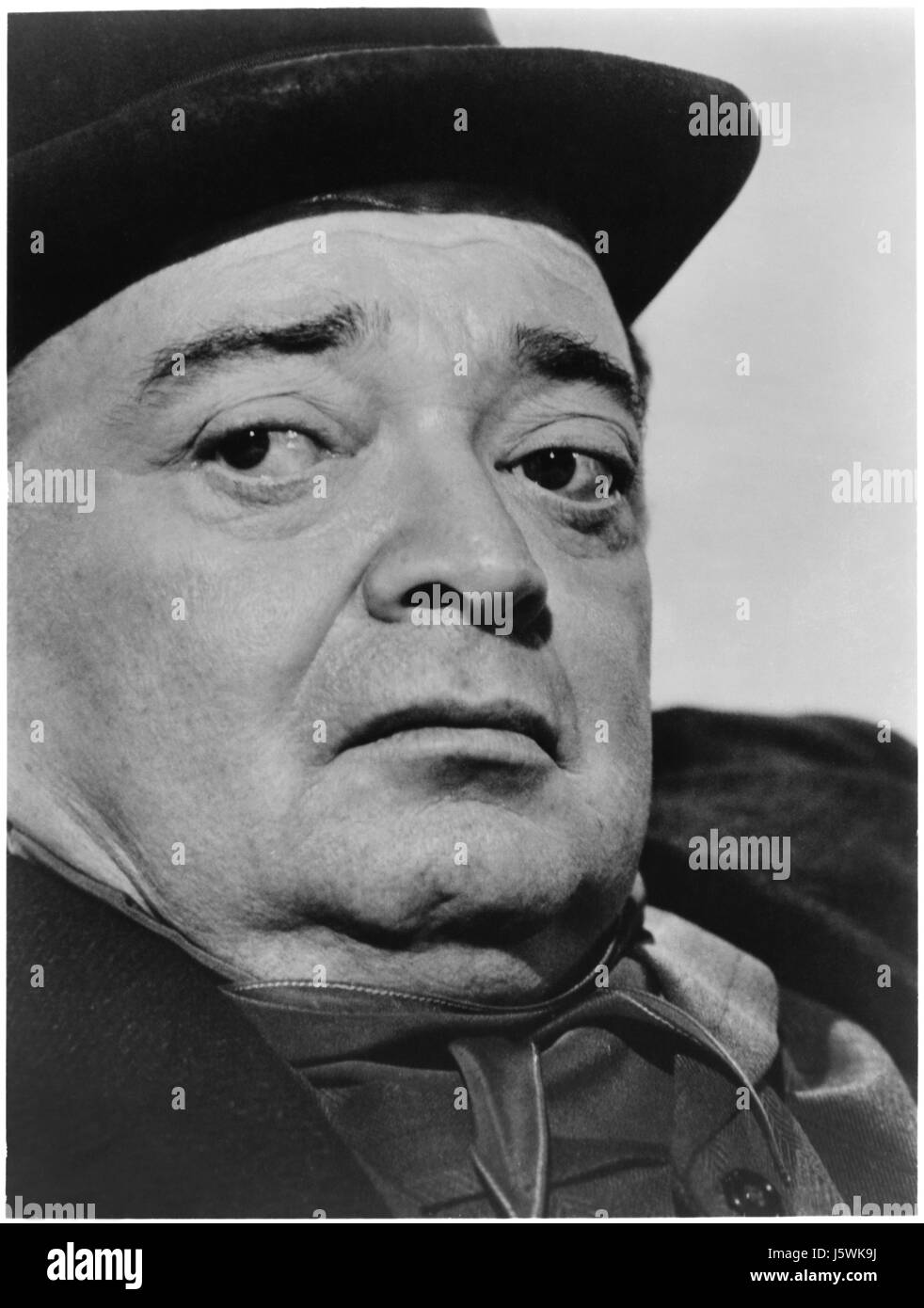 Peter Lorre, on-set of the Film, 'Tales of Terror', 1962 - Stock Image