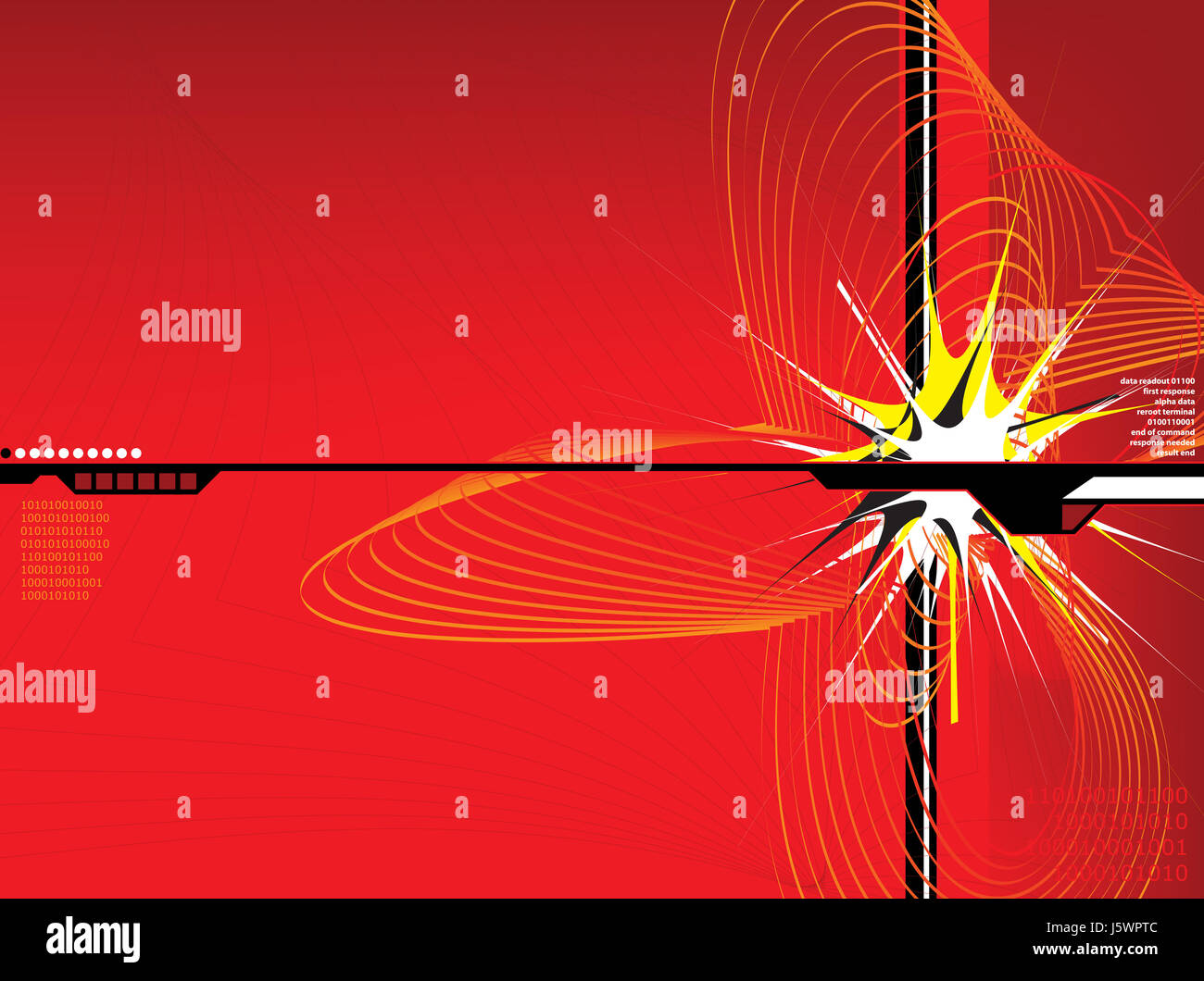 Abstract Desktop Spike Explode Rotate Swirl Backdrop