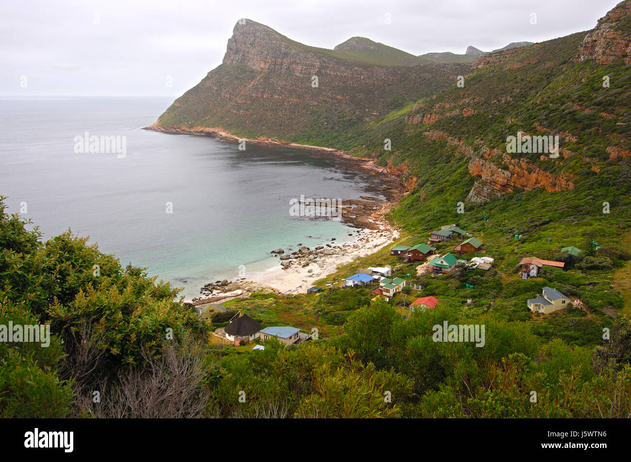 smitswinkel,cape peninsula,south africa - Stock Image