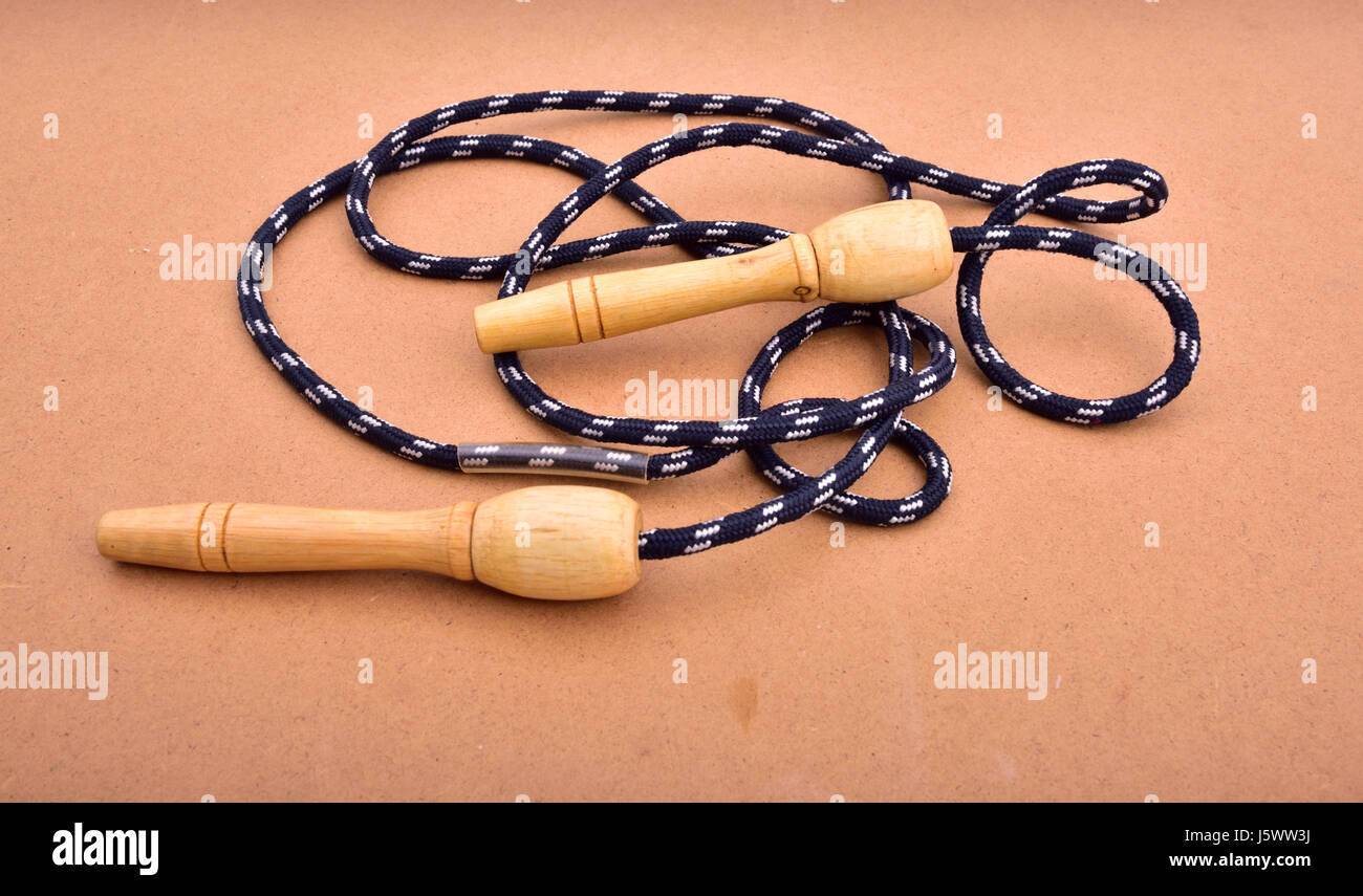 Skipping rope - Stock Image