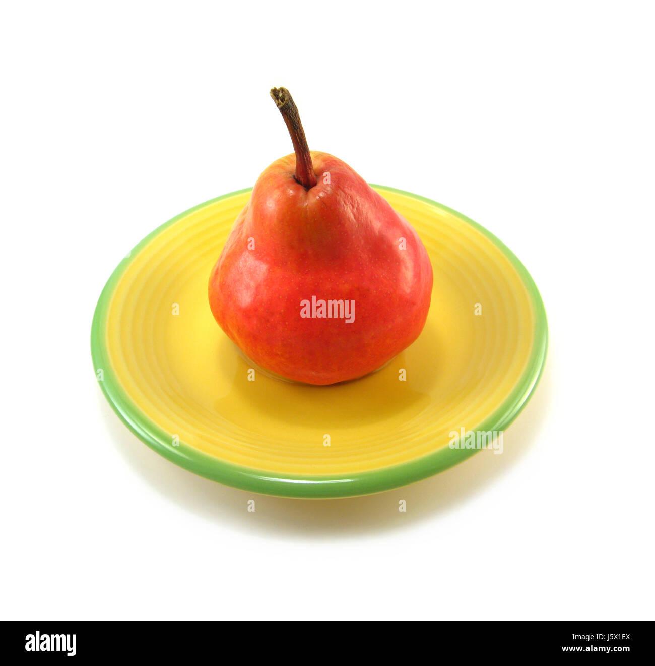 food aliment progenies fruits fruit pear bulb pears food aliment health Stock Photo