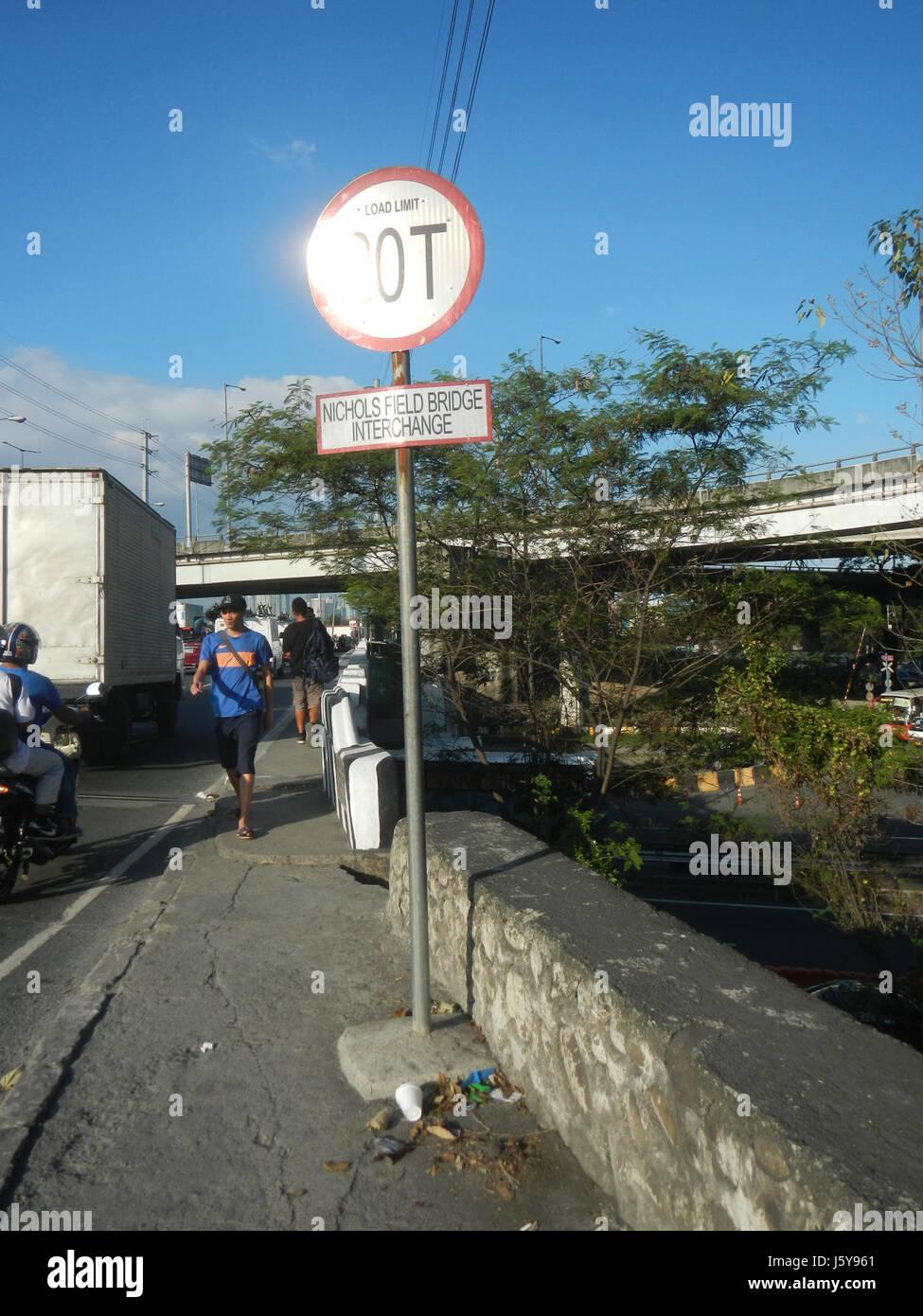 04376 Sales Interchange Taguig Pasay City  09 - Stock Image