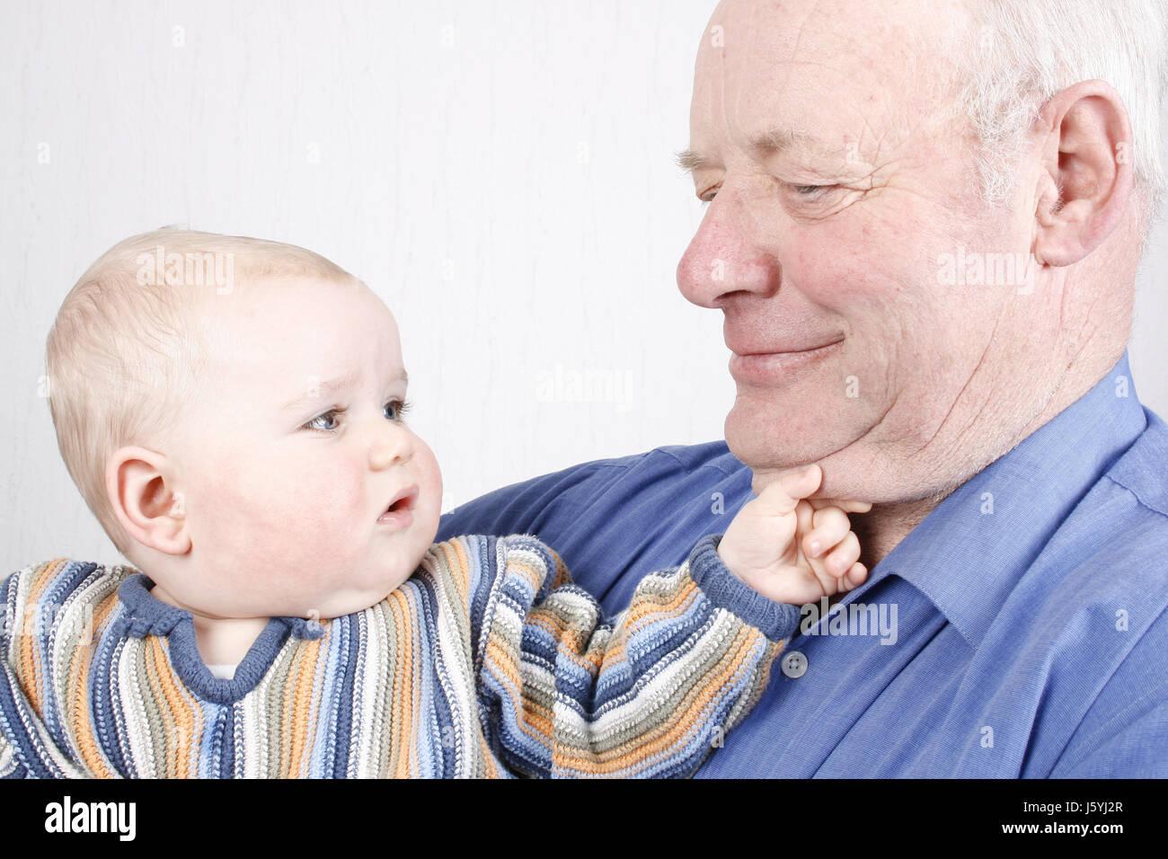 grandpa grandfather baby grand...