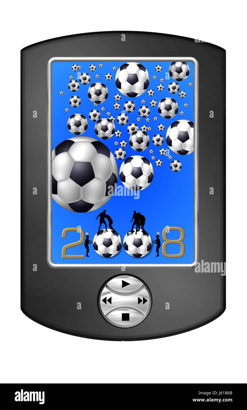 received fussball go - Stock Image